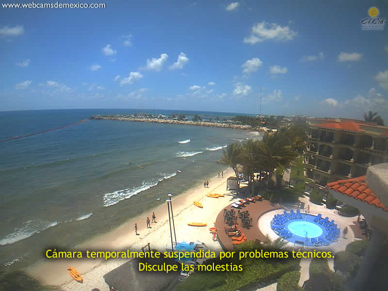 Riviera Maya live webcam